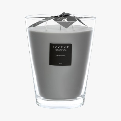 Bougie Baobab - White Rhino