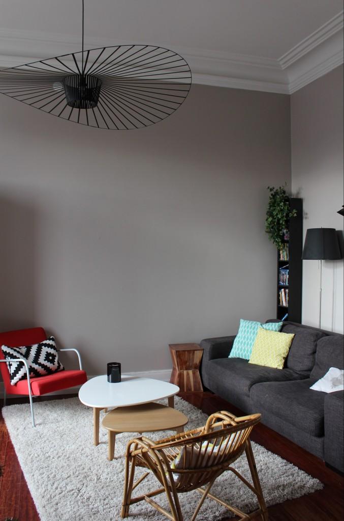 #Visite chez Celine et Pierre Yves - salon
