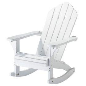 fauteuil plage bois blanc