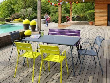 terrasse design colorée