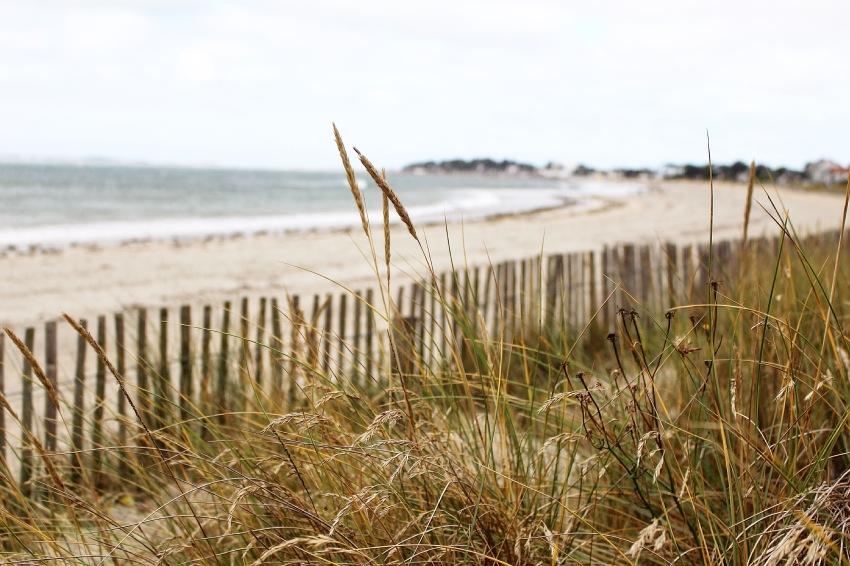 La jolie plage de Carnac