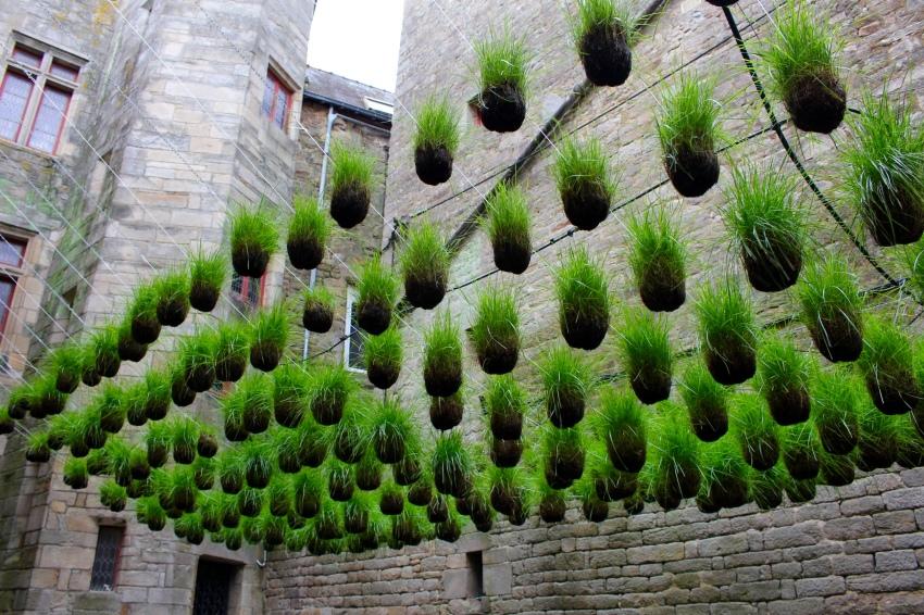 """Le jardin éphémère de Gaël Gicquiaud """"Noces d'Herbes"""""""